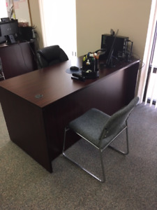 Office Desk 5 Drawers Excellent Condition Only $150.00 Firm