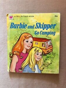 Barbie & Skipper  - Whitman Tell-a-Tale Book circa 1973