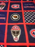 Montreal Canadiens bedding (twin size bed)
