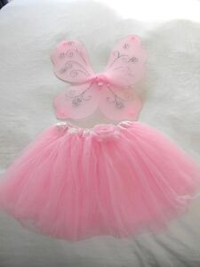 Adorable Tutu with Butterfly Wings For Sale!