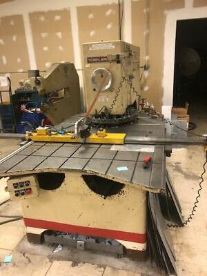 15 Ton Wiedemann Templamatic Ra-25p Cnc Turret Punch Press - Tooling Included
