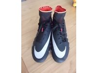 Nike size 12 sports trainers ( football and shinty )