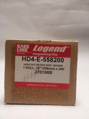 Imagesetting Film Hard Dot Hn Film Spec 392989r 22x200