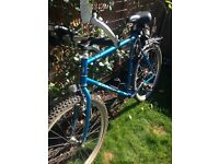 Mens saracens hybrid bike