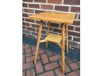 Pine Occasional Table Stool