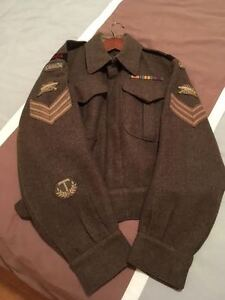 Canadian Battle Dress WW 2
