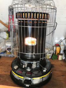 Convection Kerosene Heater.  Great for power outages, workshops