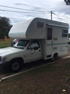 2003 Toyota Hilux Motorhome – REDUCED FOR PRE-XMAS SALE!