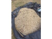 Garden Stones/Shingle, great for paths, borders or pots - about 800 kg