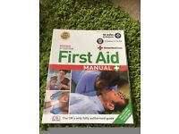 St John Ambulance, St Andrews First Aid, British Red Cross, First Aid Manual, Book