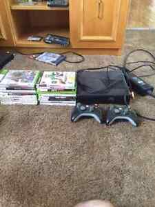 X-BOX 360 with 18 games!
