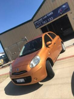 2011 NISSAN MICRA 5 SPEED MANUAL ONLY 66000KMS LIKE NEW!! Midland Swan Area Preview