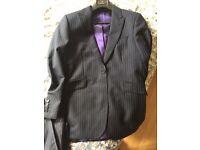 mens pinstripe suit amazing quality