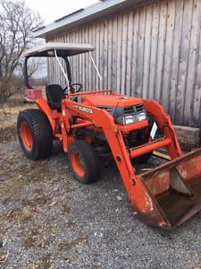 Kubota 29hp  with plow & loader SOLD!!!!!!