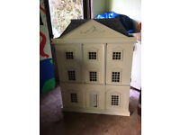 Dolls House - Immaculate in Georgian Style With Three Floors