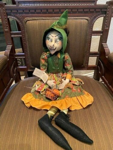 Joe Spencer Gathered Traditions Gwinette Witch  Halloween / Harvest