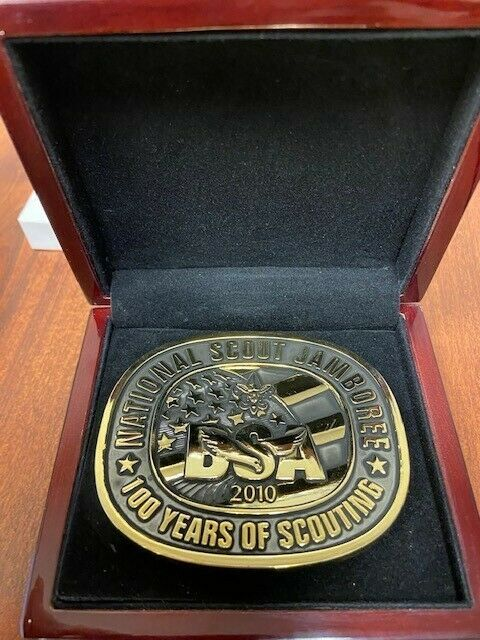 2010 BSA National Jamboree Limited Edition Belt Buckle #1584
