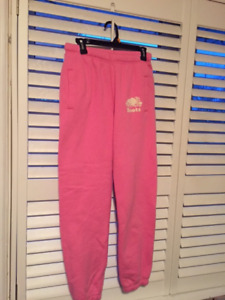 ROOTS PINK TRACK PANTS BRAND NEW!!!