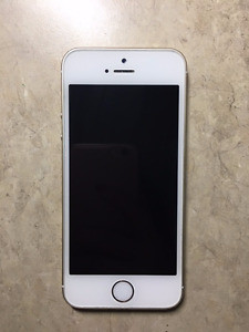 Gold 16gb Iphone 5s Locked to Koodo/Telus For Sale