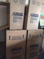 Professional Moving Boxes for Sale All for $75