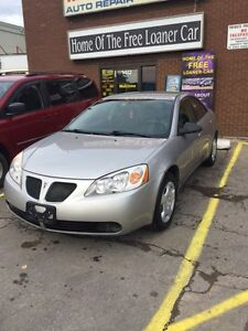 2006 PONTIAC G6 SE REDUCED  $3995.00 CERT E-TEST 140K London Ontario image 1