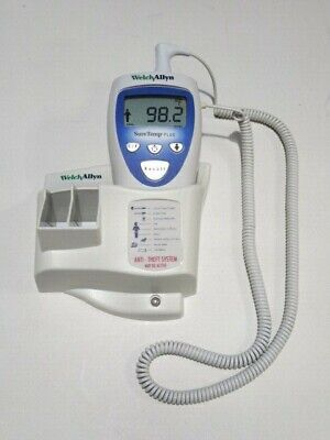 Welch Allyn Suretemp Plus 692 Hospital Grade Thermometer Includes Wall Mount
