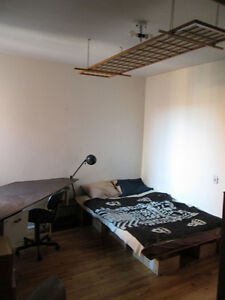 Big private room - Mile End/Plateau/Mont-Royal (1st of October)