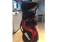 Wilson lite cart / carry golf bag
