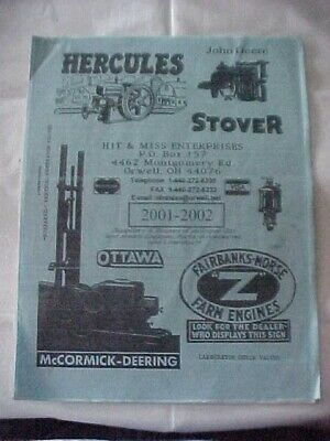 Hit And Miss Suppliers Buyers Of Antique Gas And Steam Engines Parts Accessories