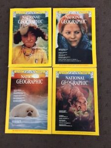National Geographic Magazines - 75 of them