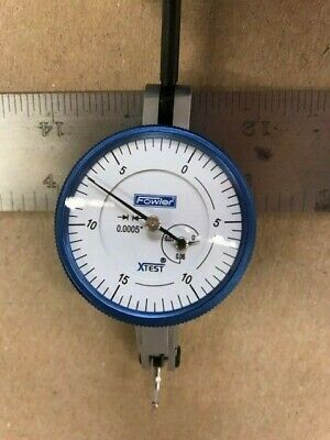 Fowler Dial Test Indicator 52-562-001 1-12 Face .0005 Grad. - New