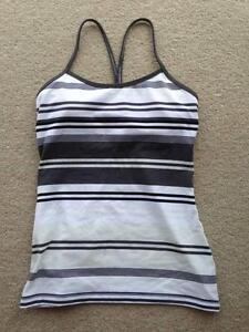 Lululemon yoga tank top and crop pants - size 8 Bronte Eastern Suburbs Preview