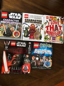 LEGO Book collection - 7 great kids books for $40