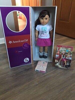 American Girl doll Grace w/ ears pierced *NIB* **NRFB**