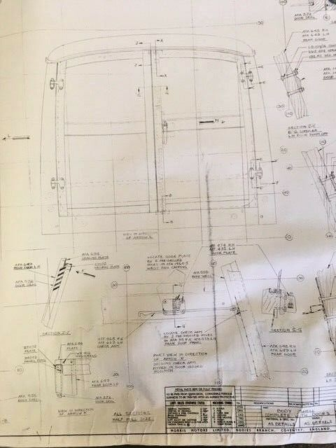 Morris Minor Traveler Wood Plans