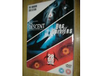 The Horror Collection 3 x DVD Set The Descent-Dog Soldiers-28 Days Later