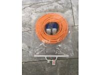 Electric hook up Lead 25mt brand new