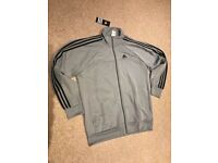 ADIDAS BRAND NEW TRACK TOP (NEVER WORN) UK SIZE L