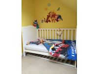White Mothercare Cot bed