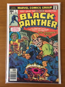 BLACK PANTHER #1 comic book - higher grade - Key Issue !!