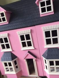 Doll House- includes furniture & family
