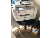 Epson Workforce Pro Wf-R5690 Plus 7 Unused Ink Cartridges