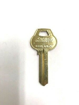 Corbin Russwin Key Blank Orig Nickel Silver 6 Pin U Pick Keyways Single Multi