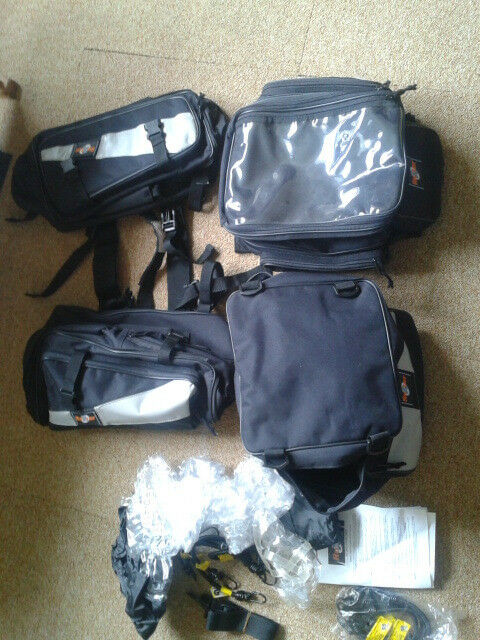 Complete Motorcycle Luggage Set