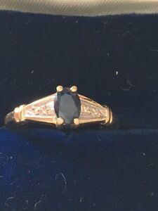 10kt Sapphire Ring