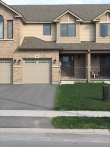 Beautiful Newly Built Town home North of 401 - $1700.00 + Util