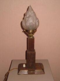 A DECO LAMP