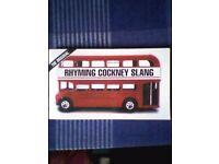 RHYMING COCKNEY SLANG BOOK - NEW