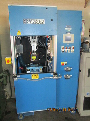 Branson Laser Iram Plastic Welding System With Chiller Control And New Spares