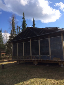 WATERFRONT CAMP FOR SALE ON PERCH LAKE ATIKOKAN